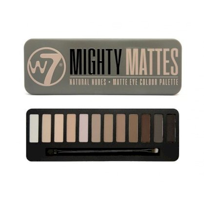 Bảng phấn mắt W7 Mighty Mattes Natural Nudes