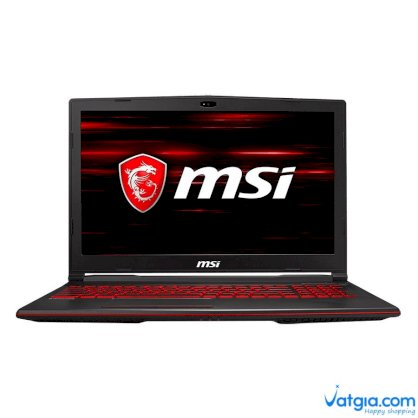 Laptop Gaming MSI GL63 8RC-436VN Core i7-8750H/ Win10 (15.6 inch)