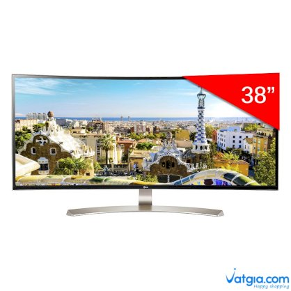 Màn Hình Gaming Cong LG 38UC99-W UltraWide 38inch QHD+ 1ms 75Hz FreeSync IPS