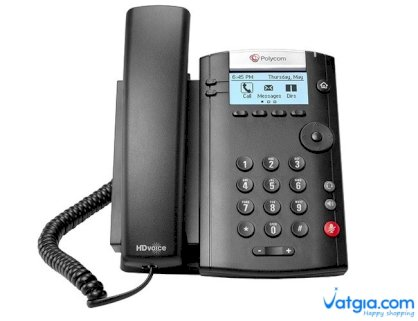 Polycom VVX 201 Business Media Phone for Skype for Business
