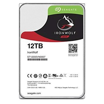 Ổ cứng HDD Seagate IronWolf 12Tb 6Gb/s, 256MB cache, 7200rpm