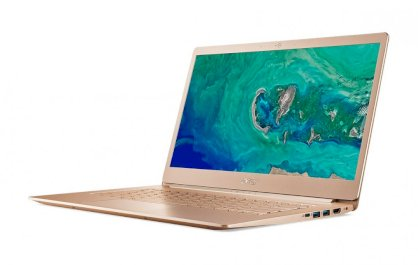 Acer swift  5 SF514-52T-811W NX.GU4SV.005 Intel® Core™ i7-8550U (1.8GHz upto 4.0GHz, 4Cores, 8Threads, 8MB cache) Gold