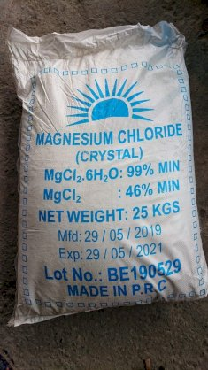Magnesium Chloride Hexahydrate Crystal – MgCl2 dạng tinh thể