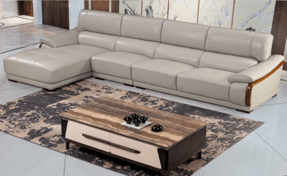 Sofa Selva Kai Furniture L-NY-Leather IV
