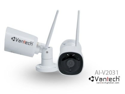 Camera AI wifi super starlight onvif bullet 3.0MP Vantech  AI-V2031B
