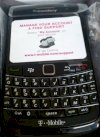 Blackberry Bold 9780 T-mobile BrandNew Fullbox Black