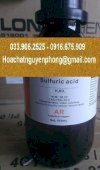 Acid Sulphuric (H2So4)
