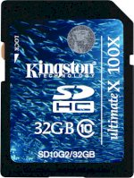 The Nho 32Gb Kingston Sdhc Sdhc Ultimate X 32Gb Class 10 Chính Hãng