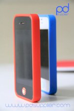 Case Trong Suốt, Viền Silicon Cho Iphone 4 - Lim's Case For Iphone 4/4S