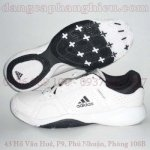 Giầy Tennis Adidas White Black