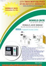 Hệ Thống Access Control Ronald Jack 5000Aid