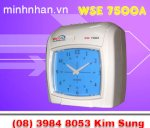 Máy Chấm Công Thẻ Giấy Wise Eye Wse 7500A , Wse 7500D. Wse 2600A, Wse 2600D Lh Ms Sung 0916 986 800-08.3984 8053