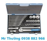 "Socket Set 1/2""32 Pieces,19 Rmu-10 Socket Set 1/2""32 Pieces, Bộ Đầu Típ 32 Cái.."