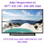 Tivi Led Sony Kdl-40R350B-40, Full Hd ,100Hz
