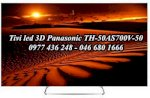 Tivi Led 3D Panasonic Th 50As700V-50, Full Hd, 1200 Hz