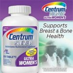 Centrum® Silver® Ultra Women's 50+ 250 Viên