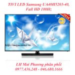 Tivi Led Samsung Ua40H5203-40, Full Hd 100Hz