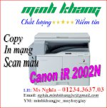 May Photocopy Canon,canon Ir 2002N (Full Option) Giá Cực Tốt!!