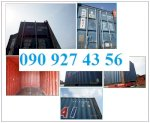 Cung Cấp Các Loại Container, Thanh Lý Container 20Ft, 40Ft @Hung Container