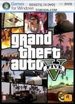 Nhận Cài Game Gta V (Pc)-Grand Theft Auto V.bán Đĩa Game,Chép Game Pc .