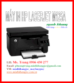 Máy In Hp Laserjet Pro Mfp M125A, In, Scan, Copy, Laser