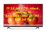 Tivi Led 4K Lg 60Uf770T Smart Tv 60 Inch