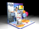 Booth Activation Quảng Cáo - Thiết Kế - Thi Công Booth Activation - Thi Công Gian Hàng Hội Chợ