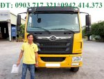 Xe Ben DongfengTrường Giang 8T75 (8750Kg) Ben Trường Giang 8T75. Bán Trả Góp Xe Ben Dongfeng 8T75