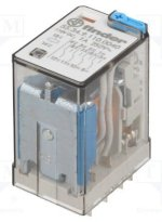 Rơ Le Finder Relay - General Purpose Relay, 55 Series, Power, 4Pdt, 110 Vdc, 7 A