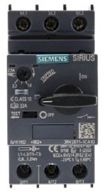 Cb Bảo Vệ Động Cơ Siemens Sirius Innovation 690 V Motor Protection Circuit Breaker - 3P Channels, 1.8 → 2.5 A, 10 Ka