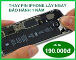 Bảng Giá Thay Pin Iphone Apple 2020