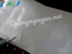 Decal Tem Tròn Trong Suốt 3Cm