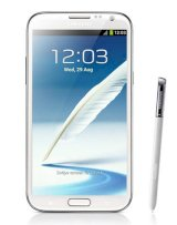 Samsung Galaxy Note II (Galaxy Note 2/ Samsung N7100 Galaxy Note II) Phablet 16Gb Marble White