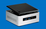 Mini PC Intel NUC Kit NUC5i5RYH (Intel Core i5-5250U 1.6Ghz, Ram 16GB Max, HDD Không kèm theo, VGA Intel HD Graphic 6000, Window 8.1, 65W)