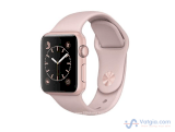 Đồng hồ thông minh Apple Watch Series 1 Sport 38mm Rose Gold Aluminum Case with Pink Sand Sport Band