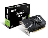 MSI GeForce GTX 1050 Aero ITX 2G OC (Nvidia GeForce GTX 1050, GDDR5, 2GB, 128-bit,  PCI Express x16 3.0)