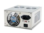 Sunbeam PSU-CGMI450-US-SV ATX 450W Silver Tri Mirrored X-Plug Modular Power Supply 100V~120V/200~240V - Retail