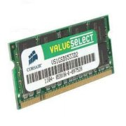 Corsair -  DDRam2 - 1GB - Bus 533 MHz - PC 4200 for Notebook