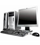 Máy tính Desktop HP-COMPAQ Dx2700 (RC737AV) (Intel Celeron D420 1.6 GHz, 512KB L2, 800Mhz FSB, 256MB DDR2, 80GB SATA HDD,HP 15''CRT, PC DOS )