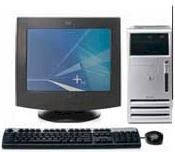 "Máy tính Desktop HP Compaq DX7200 (Intel Dual Core D925 3.0GHz,4MB Cache, 512 MB DDR2, 80GB HDD, HP 15"" CRT) Windows XP Home"