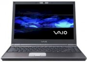 Sony Vaio VGN-SZ680N06 (Intel Core 2 Duo T7700 2.4GHz, 2GB RAM, 160GB HDD, VGA NVIDIA GeForce 8400M GS and Intel GMA X3100, 13.3 inch, Windows Vista Business)