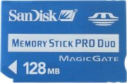SANDISK MS Pro Duo 128MB