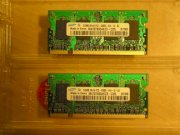 SamSung - DDRam2 - 1GB - Bus 667MHz - PC2 5300 For Laptop