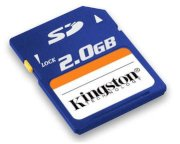 Kingston SD card 2GB