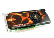 EVGA 512-P3-N867-AR (GeForce 9600 GT, 512MB, 256-bit, GDDR3, PCI Express 2.0 x16)