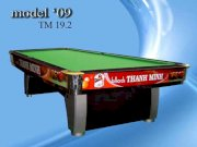 Bida Lỗ (Pool Table) TM19.2 _ Model 2009