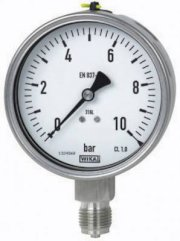 Pressure Gauge WIKA Model 232.50 and 233.50 (Đồng hồ áp suất)