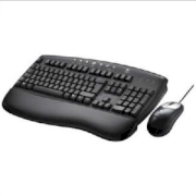 Internet Pro Desktop Black Keyboard Set