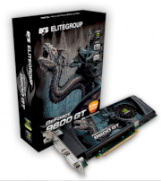 ECS N9600GT-512MX (NVIDIA GeForce 9600 GT, 512MB, 256-bit, GDDR3, PCI Express 2.0 x16)
