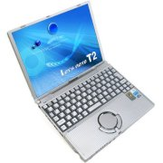 PANASONIC LET'S NOTE CF-T2 (Intel Pentium M ULV 1.1GHz, 256MB, 40GB HDD, 12.1 inch, Windows XP Professional)